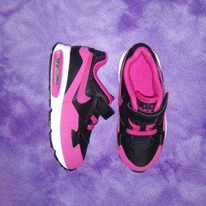 Pink & Black Nike Air Max Sneakers